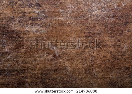 grunge cutting board wood texture - stock photo