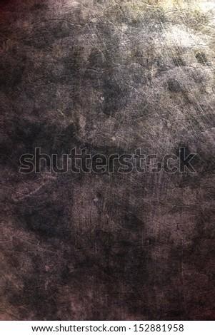 Grunge dark wall (urban texture) - stock photo