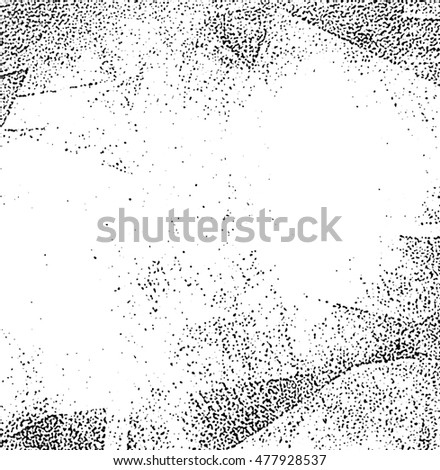 grunge effect texture, scratched plate distressed texture and background, illustration design element