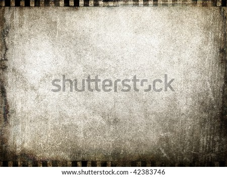 grunge film background - stock photo