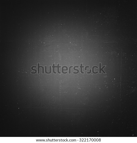 Grunge film negative background, panoramic - stock photo