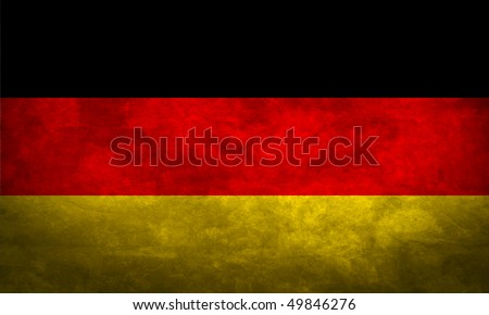 Grunge flag series of all sovereign countries - Germany