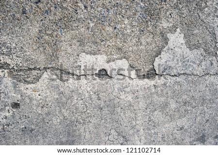 grunge floor - stock photo