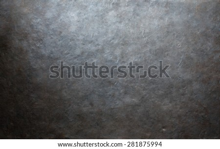 grunge forged metal background or texture - stock photo
