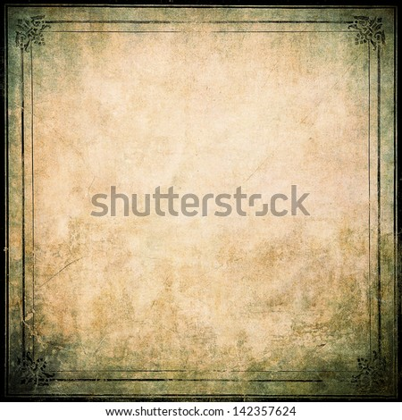 grunge framework - stock photo