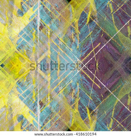 grunge generated colorful abstract background
