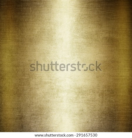 Grunge gold metal texture  - stock photo