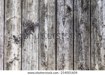 grunge gray and brown wood wall texture and background - stock photo
