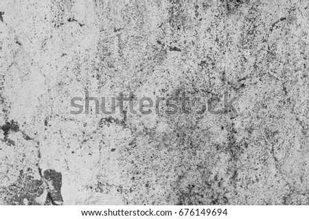 Grunge gray concrete wall texture for background