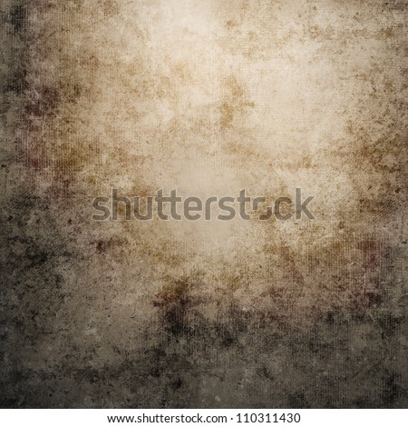 Grunge gray wall texture - stock photo