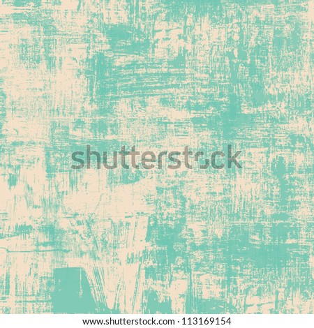 Grunge green background - stock photo