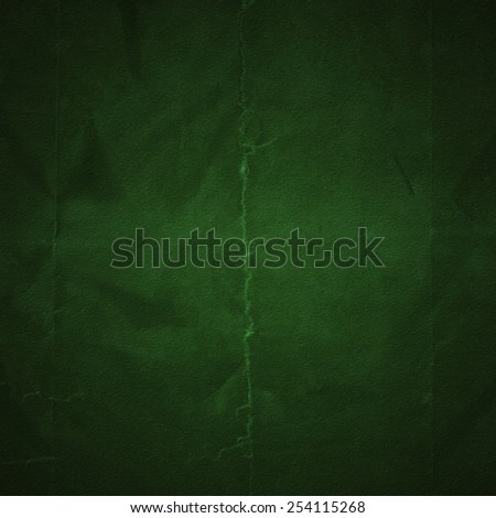 Grunge green background with space for text - stock photo