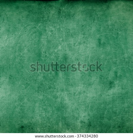 Grunge Green Chalkboard Texture Shabby Square Background   St Patrick Day  - stock photo