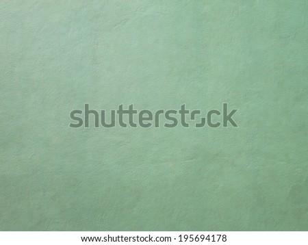 grunge green plaster walls - stock photo