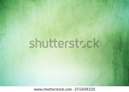 grunge  green with concrete texture abstract background - stock photo