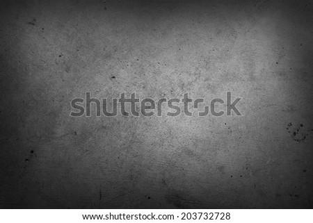 Grunge grey textured wall closeup - stock photo