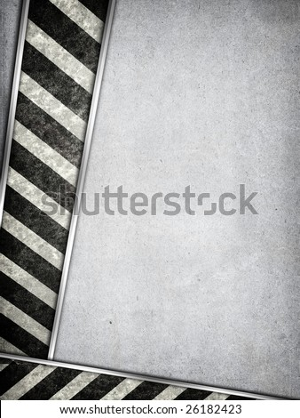 Grunge industrial background with space for your text - stock photo