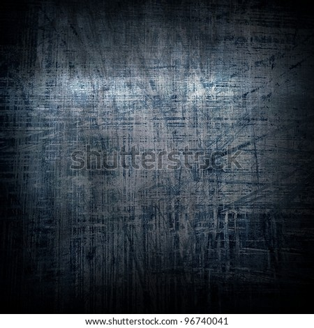 grunge iron plate - stock photo