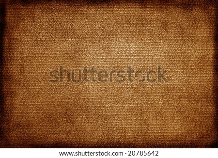 Grunge leather background with border