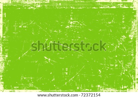 Grunge light green background - stock photo