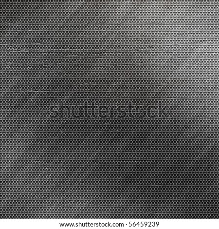 grunge metal grid (huge collection) - stock photo