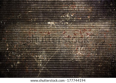 Grunge metal old style background - stock photo