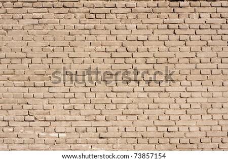 Grunge old bricks wall texture - stock photo
