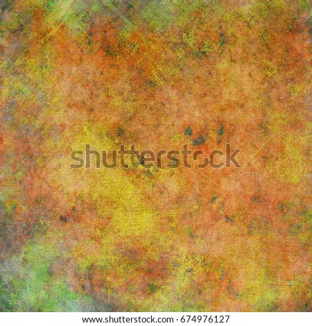 Grunge old colorful texture as abstract background