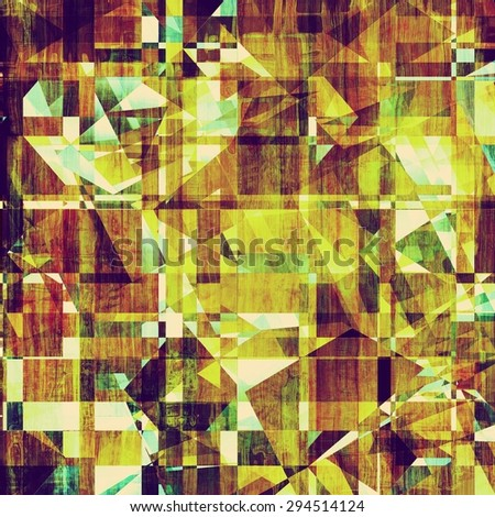 Grunge old-fashioned background with space for text or image. With different color patterns: yellow (beige); brown; purple (violet); green - stock photo