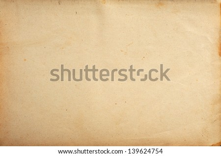 Grunge old paper background - stock photo