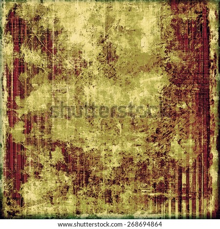 Grunge old texture as abstract background. With different color patterns: brown; green; purple (violet) - stock photo