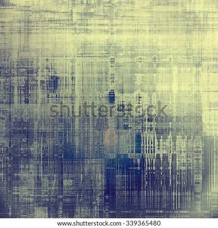 Grunge old texture as abstract background. With different color patterns: yellow (beige); blue; purple (violet); gray - stock photo