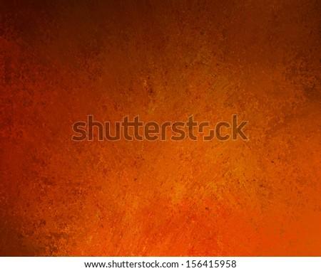 grunge orange background with spotlight