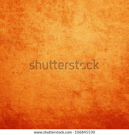 Grunge Orange texture abstract background with space for text