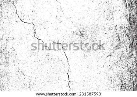 Grunge Overlay Texture For Your Design. - stock photo