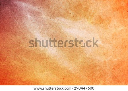 grunge paper abstract background with fog - stock photo
