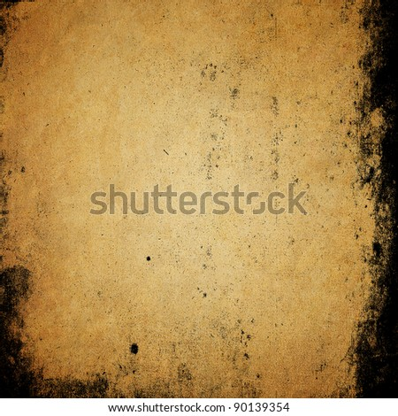 Grunge paper texture background with space for text - stock photo