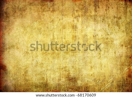 Grunge Paper Texture Vintage Burned Background