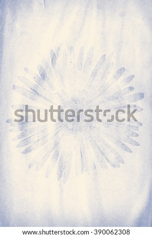 grunge paper with flower watermark