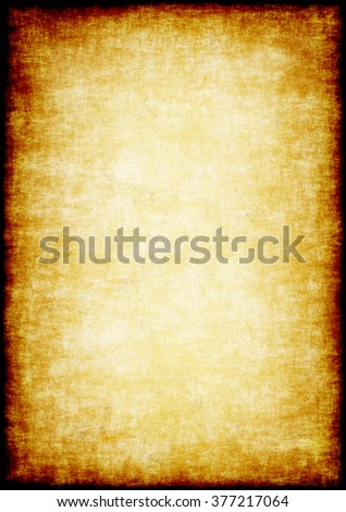 Grunge parchment background. Shabby old sheet paper.  A high resolution. - stock photo