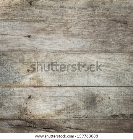Grunge plank wood texture background - stock photo