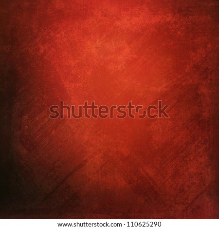 Grunge red texture - stock photo