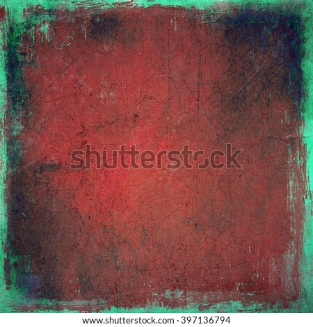 Grunge red texture background - stock photo