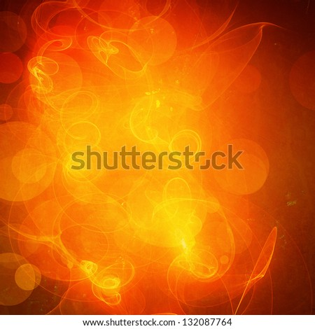 grunge retro paper texture, abstract  circles background - stock photo