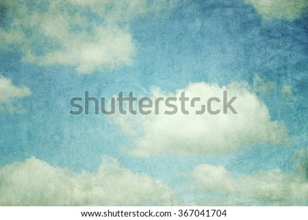 grunge retro sky abstract background
