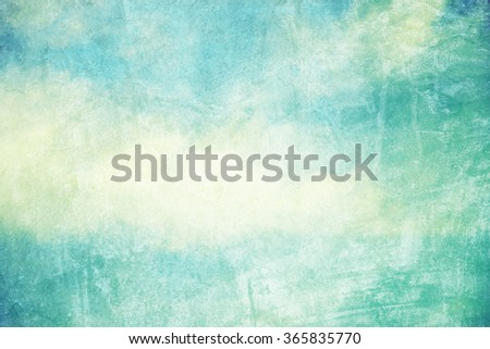 grunge retro sky background - stock photo