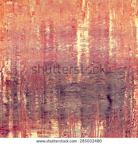 Grunge retro texture, elegant old-style background. With different color patterns: yellow (beige); brown; red (orange); purple (violet) - stock photo