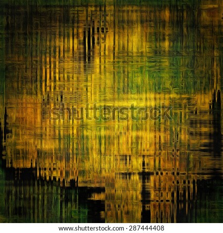 Grunge retro texture, elegant old-style background. With different color patterns: yellow (beige); brown; black; green - stock photo