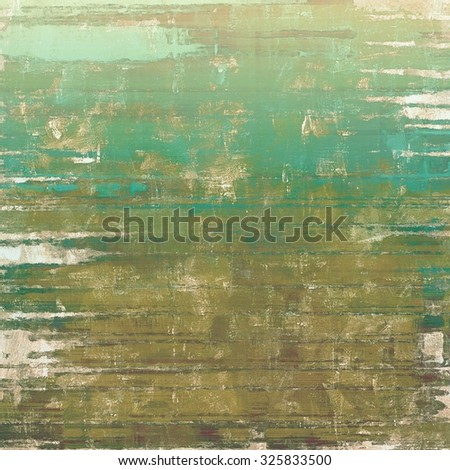 Grunge retro vintage texture, old background. With different color patterns: brown; blue; gray; cyan - stock photo