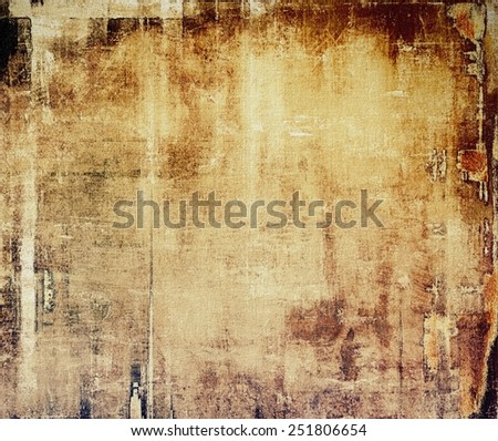 Grunge retro vintage texture, old background. With different color patterns: yellow (beige); brown; gray; black - stock photo